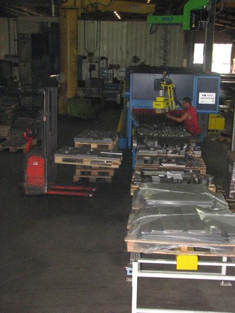 Atelier de découpe et transformation d'acier